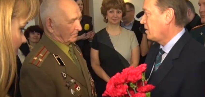 Ветерану из Удмуртии спустя 70 лет вручили боевую награду