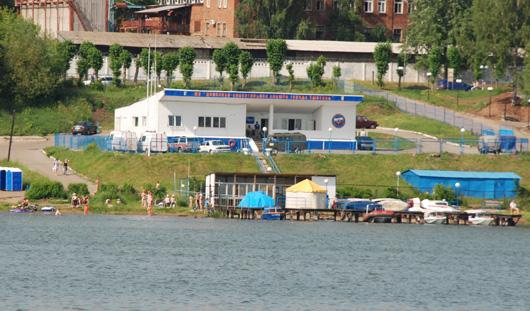 На Воложке установят стационарный пост спасателей