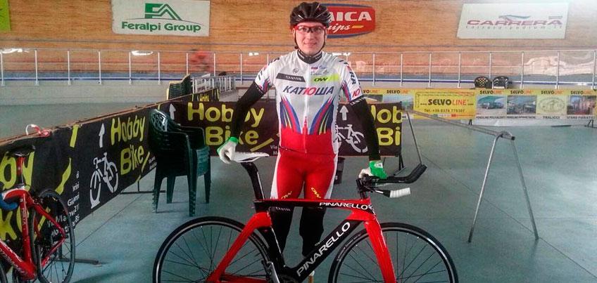 Ижевчанин Арслан Гильмутдинов выиграл «бронзу» чемпионата мира по паравелоспорту в Италии