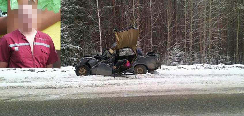В аварии на трассе Ижевск-Воткинск погиб фельдшер скорой помощи из Воткинска