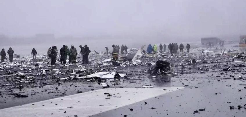 В списках погибших в авиакатастрофе в Ростове-на-Дону не было жителей Удмуртии