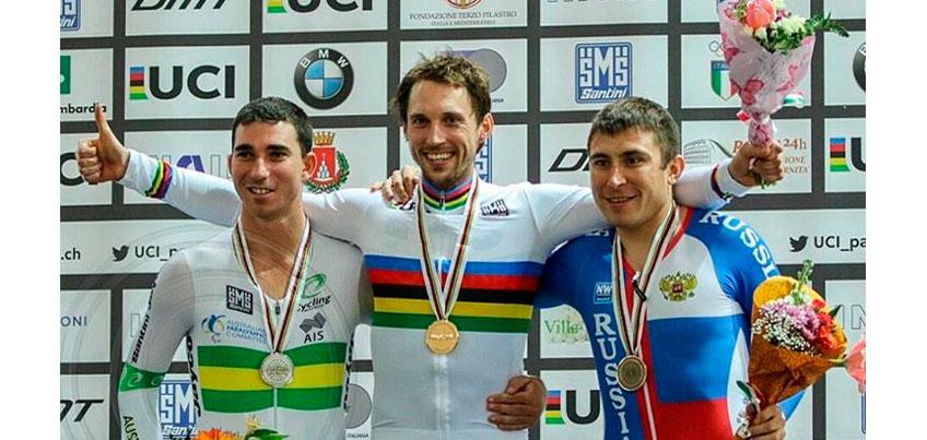 Велогонщик из Удмуртии Сергей Пудов стал кандидатом в паралимпийскую сборную России