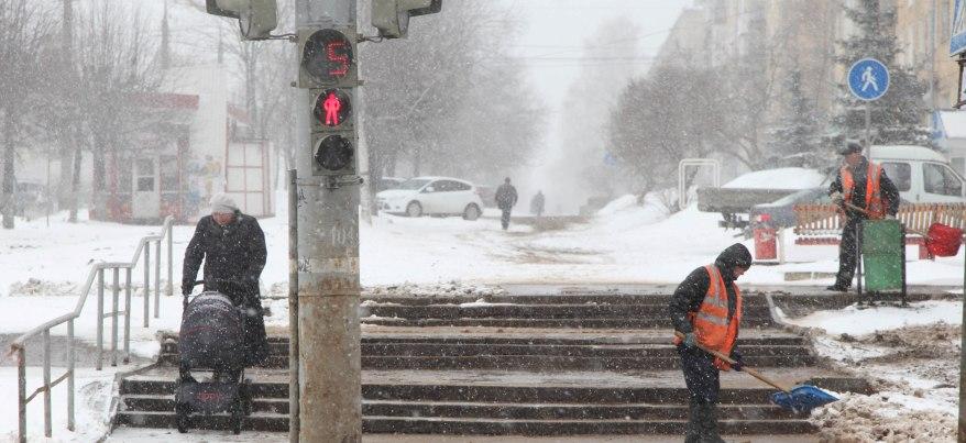 В Удмуртии из-за ухудшения погоды на федеральной трассе будут дежурить дорожники