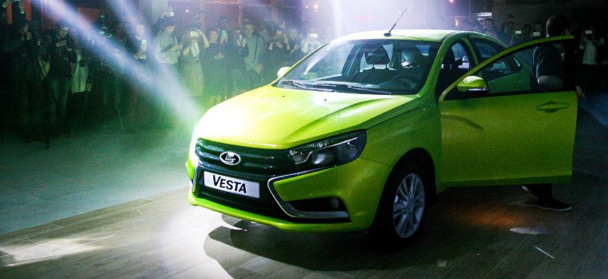 «АвтоВАЗ» удвоил выпуск ижевской Lada Vesta из-за высокого спроса