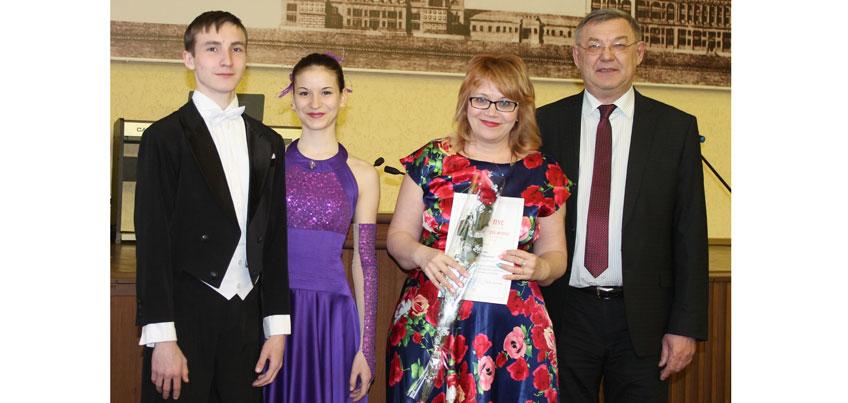 В Ижевске поздравили работников культуры