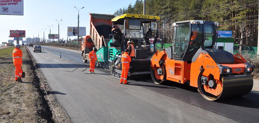 Администрация Ижевска утвердила список дорог, которые отремонтируют в 2016 году