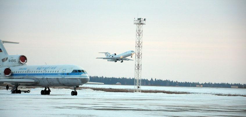 Самолеты, вылетевшие рейсами Москва-Ижевск, поменяли направление