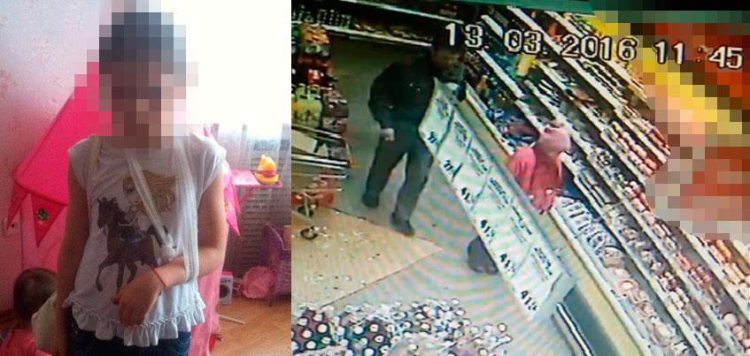 В Ижевске охранник супермаркета, заподозрив девочку в воровстве, силой уволок ее в подсобку