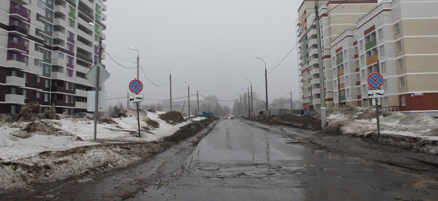 В Ижевске появится зебра на перекрестке Сабурова и Берша
