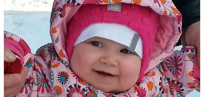 В голове маленькой Софьи из Ижевска нашли гигантскую опухоль с теннисный мяч