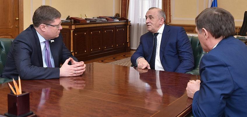 Глава Удмуртии встретился с вице-спикером Госдумы