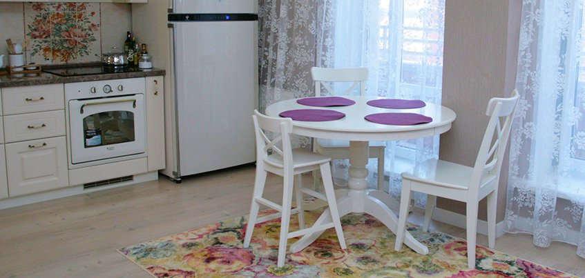 Красивые квартиры Ижевска: дух юга Франции в «трешке»