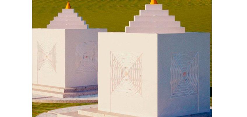 Компания из Ижевска сделала освещение в монгольском храме, где лежат мумии буддийских лам