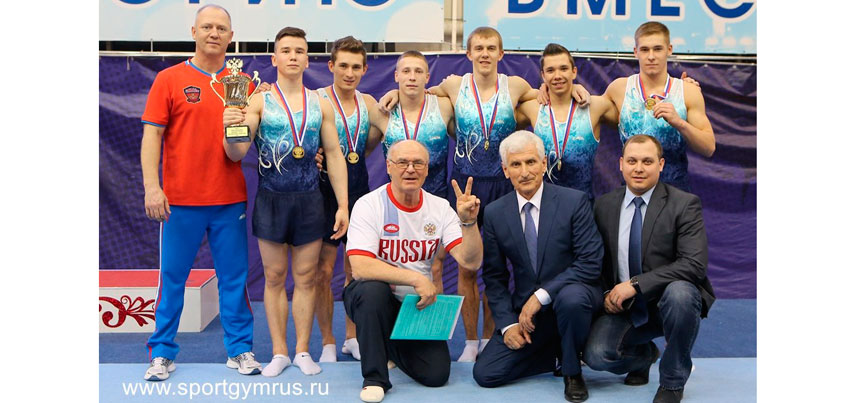 Гимнаст Давид Белявский выиграл «золото» на Чемпионате России в Пензе