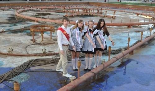 В Ижевске отключили фонтан