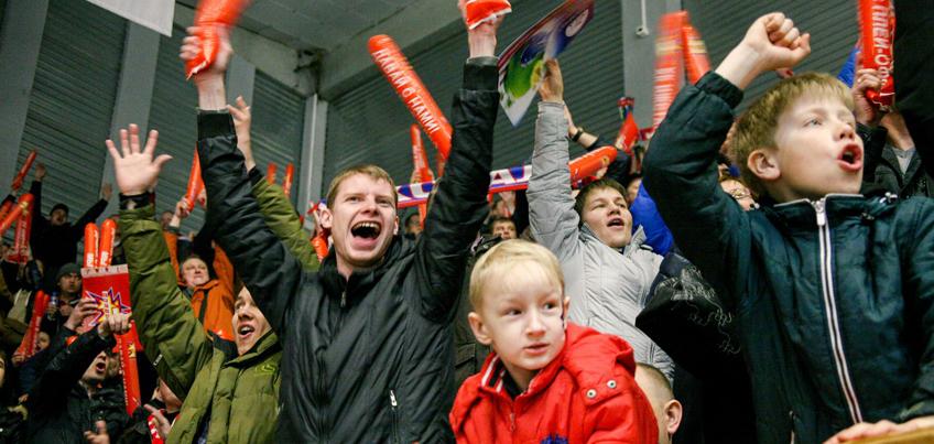 Ижевские хоккеисты в третьей игре полуфинала обыграли ТХК