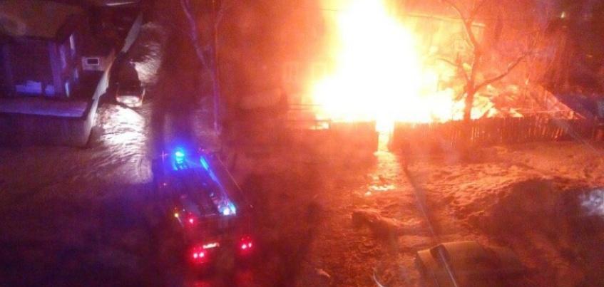 Выяснились причины пожара в Ижевске на улице Грибоедова