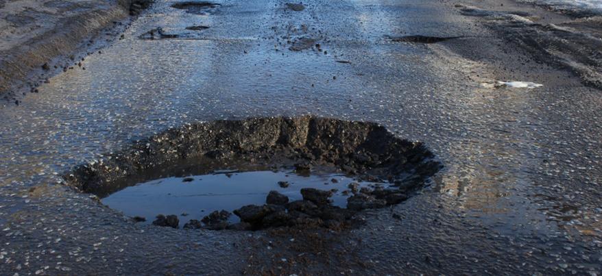 В Ижевске на перекрестке с круговым движением улиц Ленина и Союзная отремонтируют дорогу