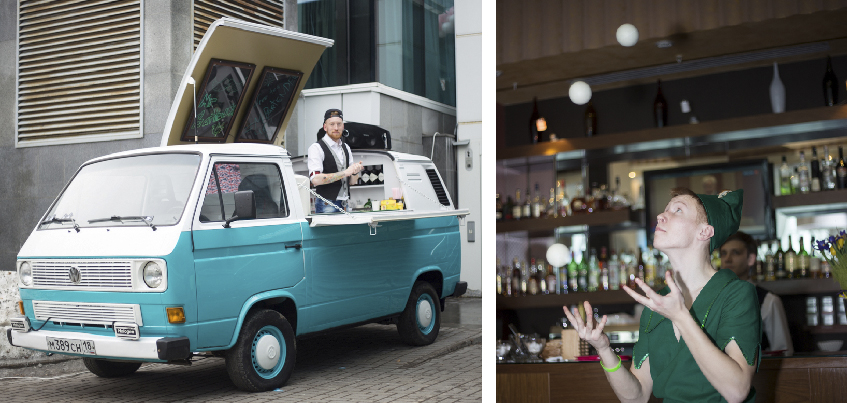 Бар на колесах и жонглер: в Ижевске представили новинки свадебной индустрии