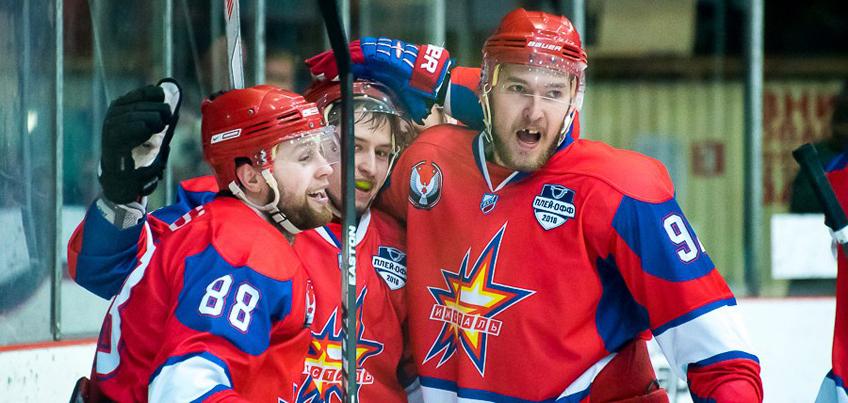 Ижевские хоккеисты вышли в финал Кубка Братины