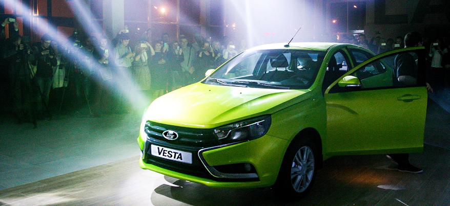 Ижевская Лада Веста вошла в четверку самых продаваемых автомобилей в России