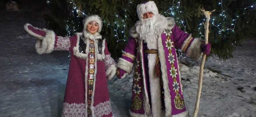 Удмуртский Дед Мороз отправился на день рождения Снегурочки в Кострому
