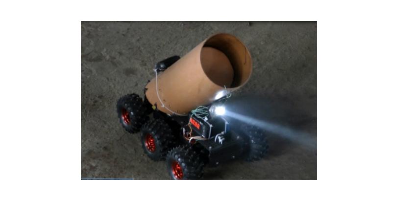 Ижевский робот-пожарный прошел первые испытания в Удмуртии