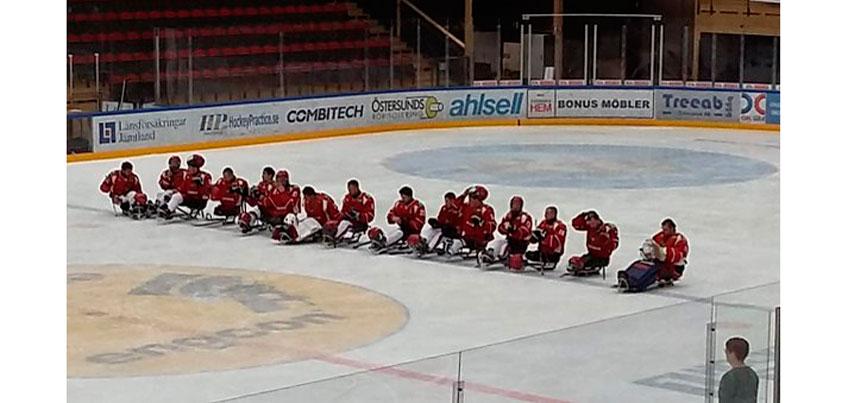 Российские следж-хоккеисты выиграли «золото» Чемпионата Европы