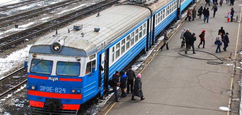 В Удмуртии временно изменится расписание движения поезда Кизнер – Ижевск