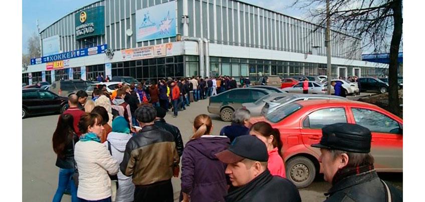 Чтобы купить билеты на финал «Ижсталь» - «Нефтяник», ижевчане отпрашивались с работы