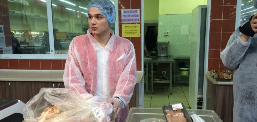 Ведущий программы «Магаззино» остался доволен молочной продукцией в «Ижтрейдинге»