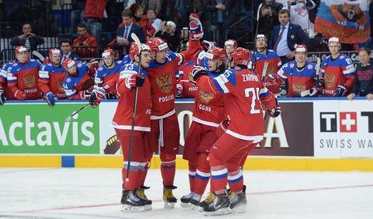 Россия сыграет с Финляндией в финале на ЧМ по хоккею