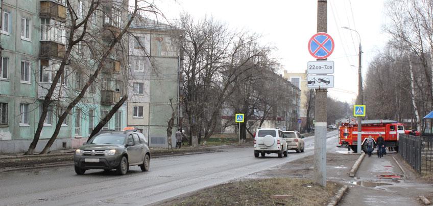 В Ижевске запретили ночную парковку у пожарно-спасательной части №2