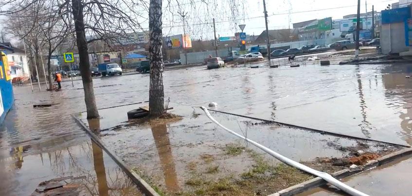 В Ижевске ввели режим повышенной готовности из-за паводка