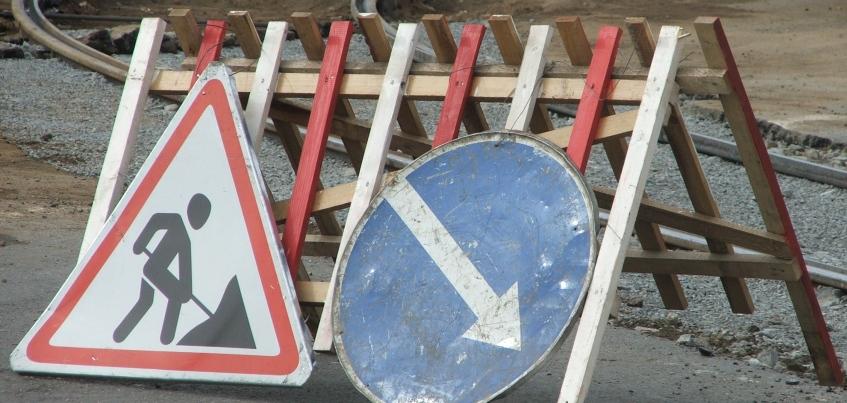 В Ижевске запретили проезд на переулке Северный