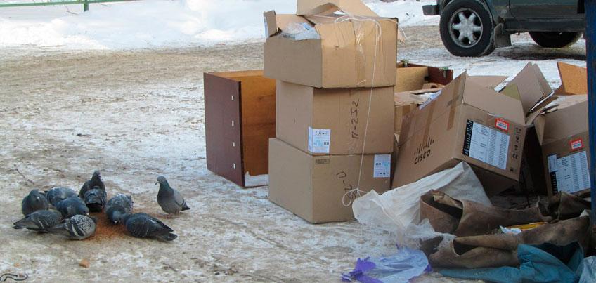 Грязь в Ижевске: кто отвечает за вывоз мусора в частном секторе?