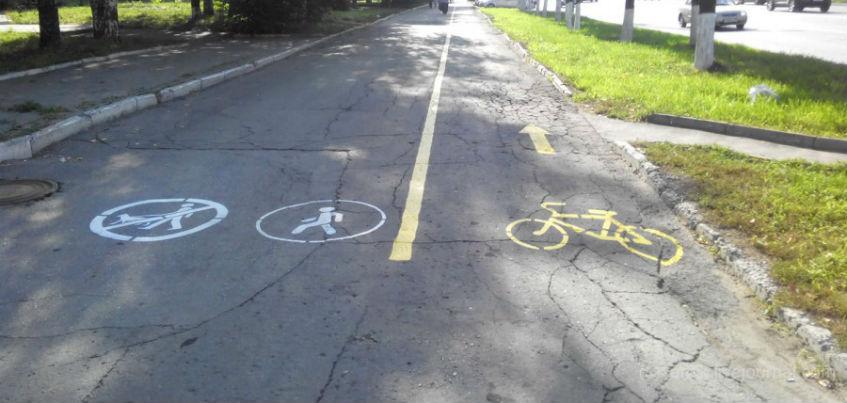 В Ижевске планируется приостановить строительство новых велодорожек