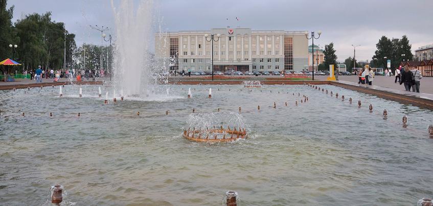 В Ижевске на Центральной площади будет работать только светомузыкальный фонтан