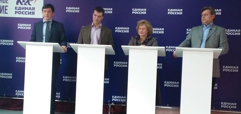 Участники дебатов «Единой России» в Удмуртии обсудили развитие экономики