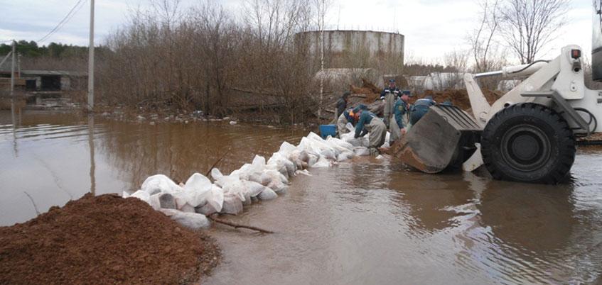 МЧС следит за паводком в Удмуртии при помощи трех «беспилотников»