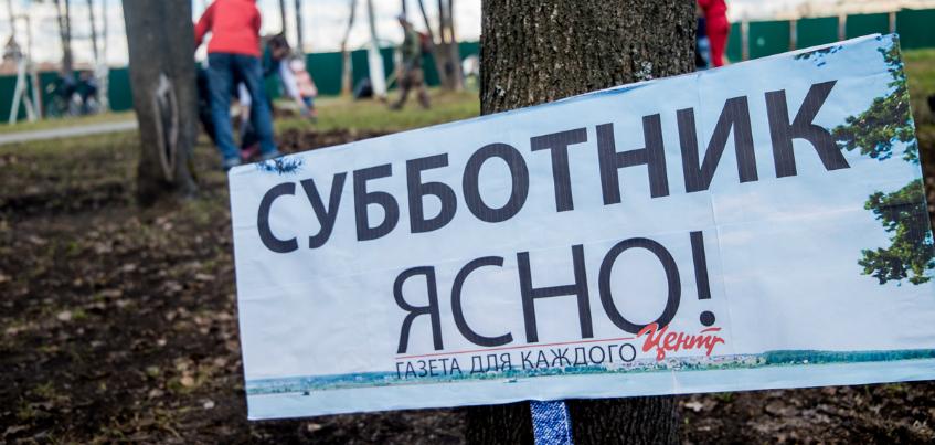 250 мешков мусора с территории в 1 гектар: медиагруппа «Центр» и читатели провели субботник в парке Кирова в Ижевске
