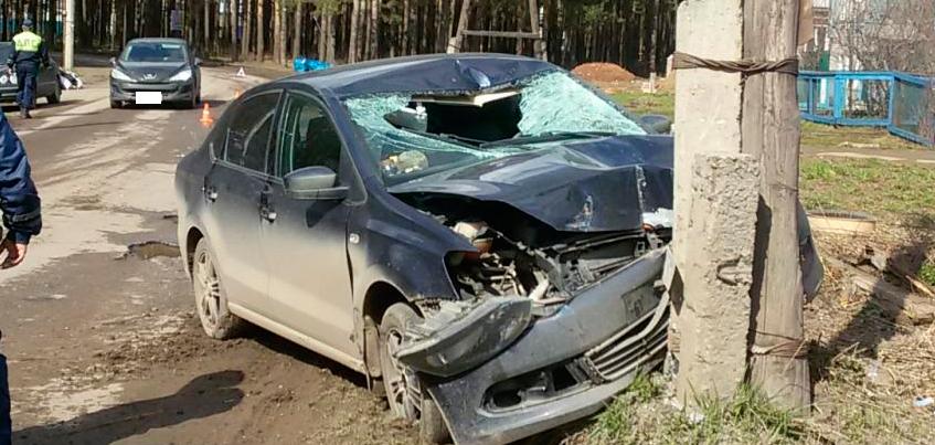 В Ижевске пьяная автоледи насмерть сбила пожилого мужчину