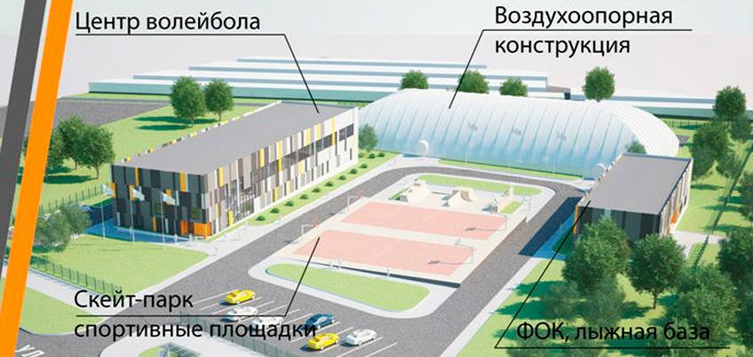 В Ижевске рассматривается проект строительства спорткомплекса на улице Союзной