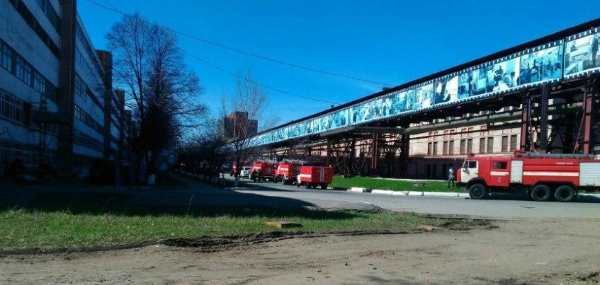 Короткое замыкание стало причиной эвакуации сотрудников концерна «Калашников»