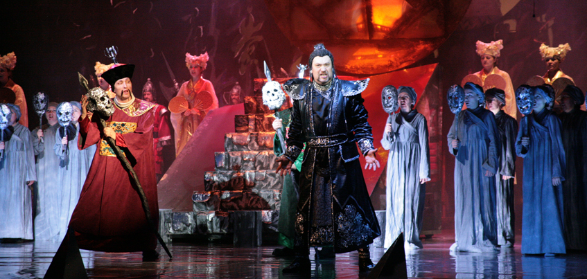 В театре оперы и балета Удмуртии показали оперу «Турандот»