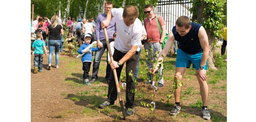В Ижевске стартовало голосование за социальные акции в рамках «Зеленого марафона»