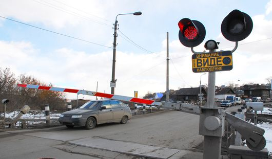 Железнодорожный переезд на улице Телегина в Ижевске временно закроют