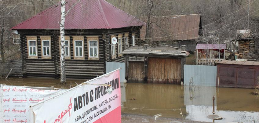 В Ижевске организовали помощь для горожан, которые попали в зону подтопления
