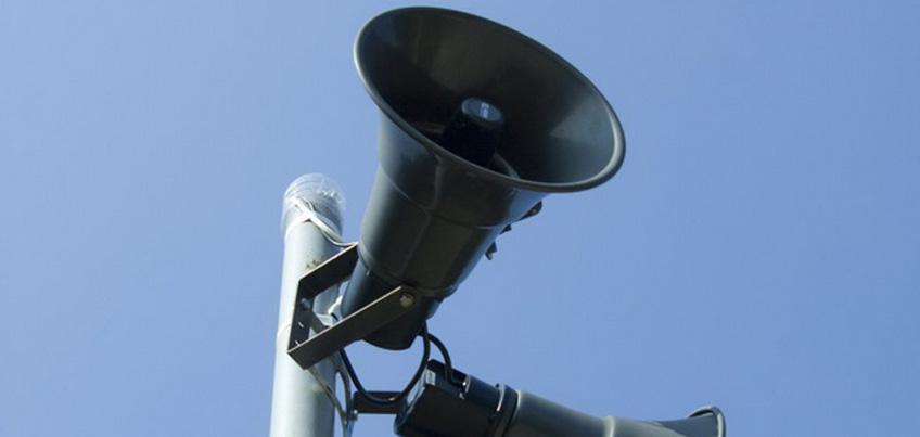 29 апреля в Ижевске пройдет проверка системы уличной звукофикации
