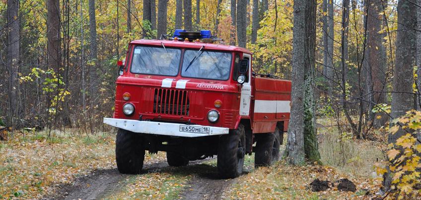 В Ижевске начался пожароопасный период